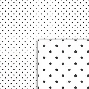 winter black dots background paper