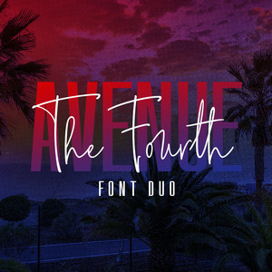 the fourth avenue font duo