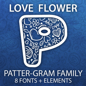 love flower patter-gram