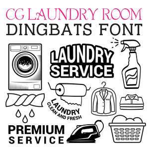 cg laundry room dingbats