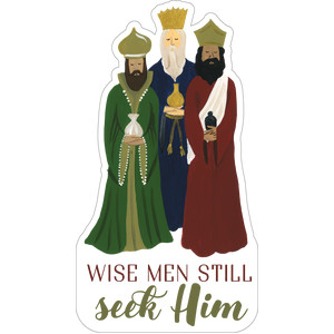 wisemen still seek him