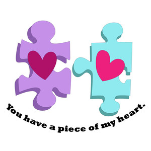 piece of my heart valentine phrase