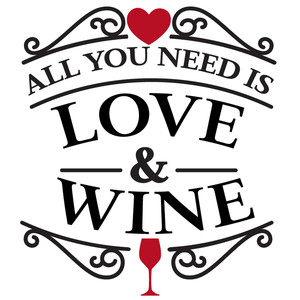 need love and wine