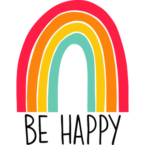 rainbow be happy