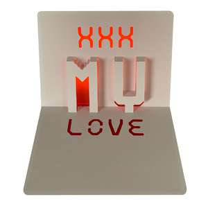 my love popup card