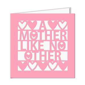'a mother like no other' card