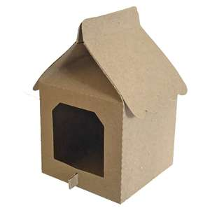 open birdhouse milk carton