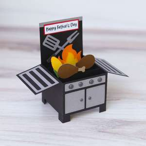 box card grill father's day