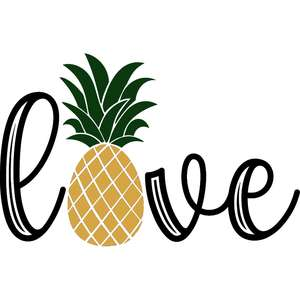 love pineapple