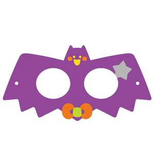 halloween bat mask