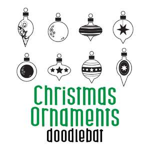 christmas ornaments doodlebat