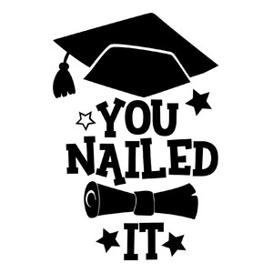 you nailed it - graduation design