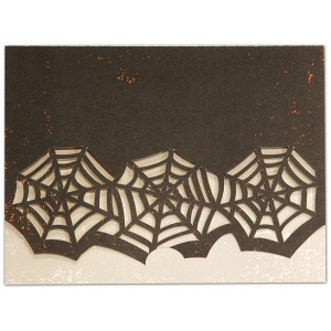 a2 card crescent closure spiderwebs