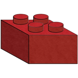 building block - 4 prong