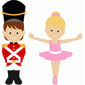 tin soldier & ballerina