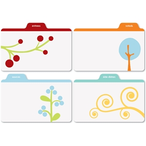 printed recipe tabs-2