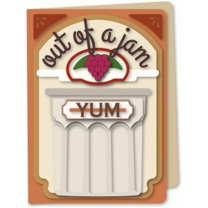 out of a jam card a6 card