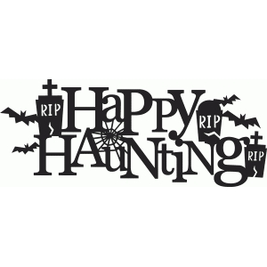 happy haunting title