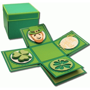 st. patrick's explosion box kit