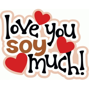 love you soy much title