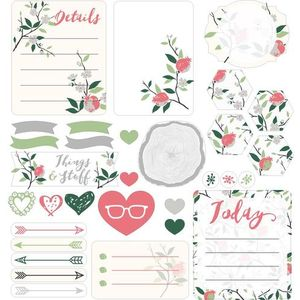 nature sticker set