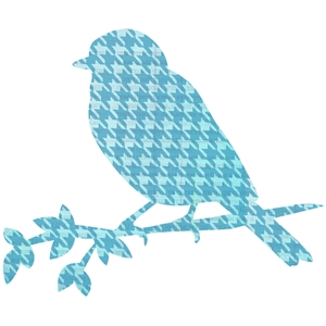 bird houndstooth