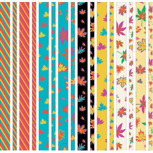 fall leaves washi tapes