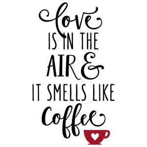 love is in the air coffee