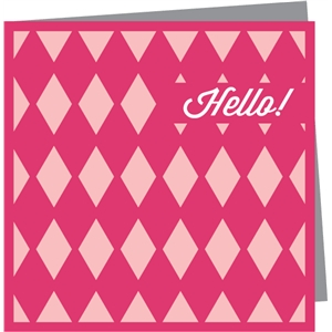 hello! mini card