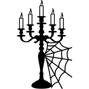 candle holder halloween