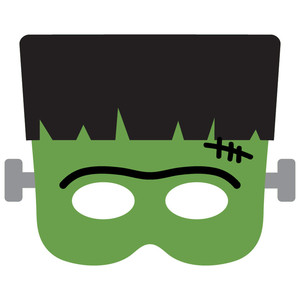 frankenstein halloween mask