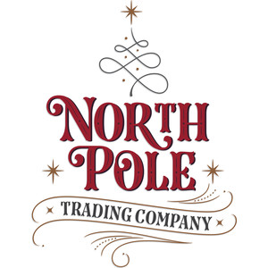 north pole trading company logo