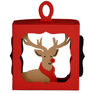 rudolph's scarf hanging ornament