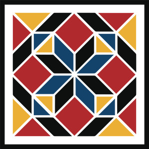 amish diamond barn quilt
