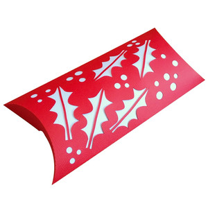 holly pillow gift box