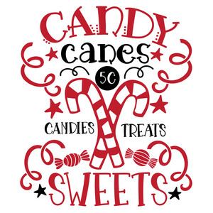 candy canes candies treats