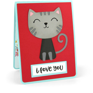 twist pop card love more than the cat