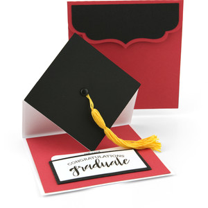 graduation hat easel gift card holder