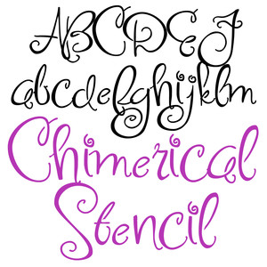 pn chimerical stencil