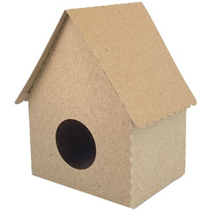 birdhouse with scallop edge