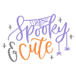 spooky and cute