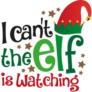 i can't the elf is watching