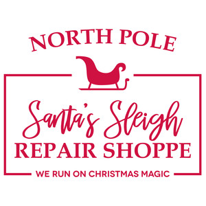 santa's sleigh repair shoppe