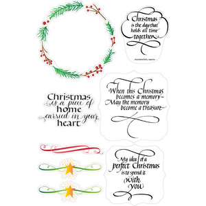 christmas quotes and designs planner stickers