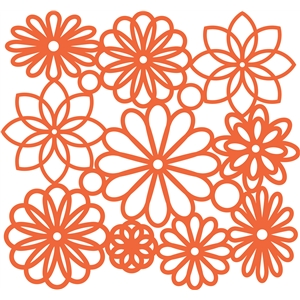 flower background lace