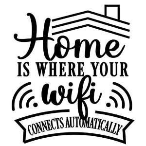 home wifi connects automatically