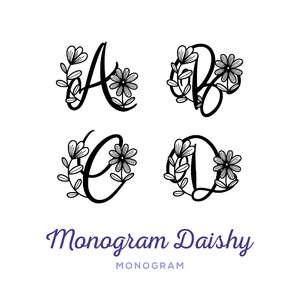 monogram daishy