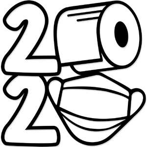 2020 toilet paper & mask