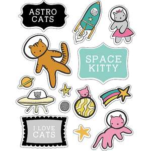 ml cats in space stickers