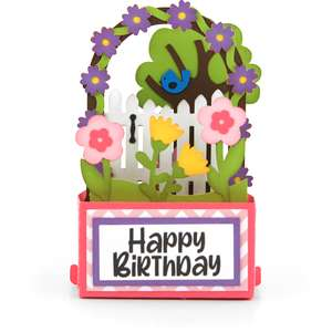 rectangle pop up card arbor
